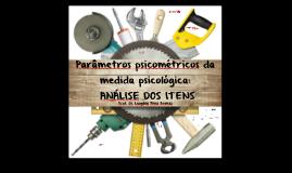 Aula 04 [2018.1] PAP II - UFAL  -  ANÁLISE DOS ITENS  [Prof. Leogildo Alves]