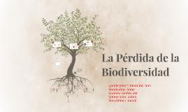 Copy of La Pérdida de la Biodiversidad