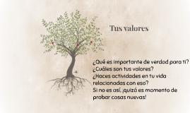 Tus valores