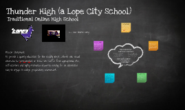 Thunder High (a Lope City School)