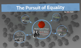 The Pursuit of Equality (Martin Luther King)