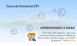 Copy of Aprendiendo a orar