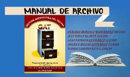 Copy of MANUAL DE ARCHIVO