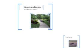 Bicenntenial Garden