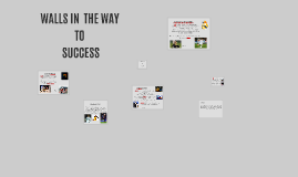 WALLS IN THE WAY TO SUCCESS