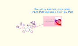 Copy of Reacão da polimerase em cadeia (PCR), PCR-Multiplex e Real-T