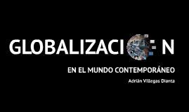 La globalización en el mundo contemporáneo
