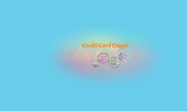 Credit Card Usage