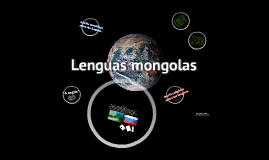 Lenguas mongolas
