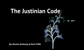 Copy of Justinian Code