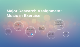 Major Research Assignment: Music in Exercise