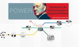 Seminario de Comunicación y Espacio Público