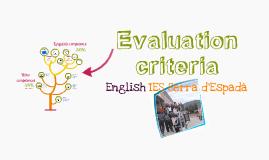E.S.O. criteria