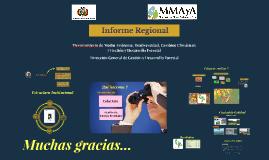 Informe Regional 2017