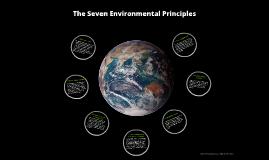 Copy of The Seven Environmental Principles