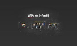 APPs en Infantil