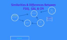 Similarities & Differences Between