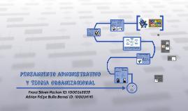 Pensamiento Administrativo Y Teroria Organicional