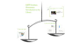 C&EE Graduate Orientation