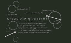 plans after graduation