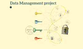 Data Management  unit project