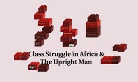 Class Struggle in Africa &