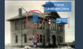 Old School Assessment Criteria