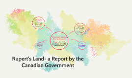 Rupert's Land- a Report by the Canadian Government