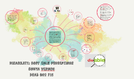 Copy of Disability: body talk perceptions