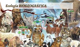 ECOLOGIA BIOGEOGRÁFICA
