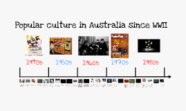 Copy of Australian Popular Culture Post WWII