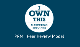 Peer Review Model