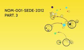 NOM-001-SEDE-2012