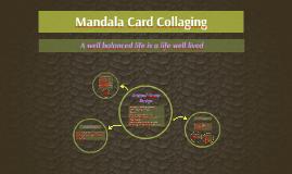 Mandala Card Collaging