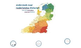 Nederlandse dialecten