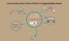 Blockseminar Juden, Christen und Muslime