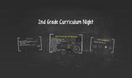 2nd Grade Curriculum Night