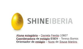 Aluna estagiária – Daniela Ferrão 10607