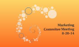 Marketing Commitee Meeting