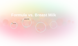 Formula vs. Breast Milk
