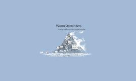 Copy of Warm Demanders