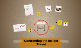 Confronting the Insider Threat