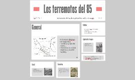 El terremoto del 85