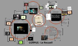 Le Recueil - CORPUS