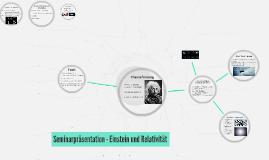 Seminarpräsentation - Einstein und Relativität