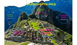 Culturas Pre-Inca