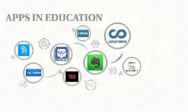 APPS IN EDUCATION