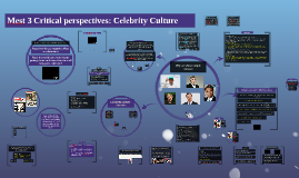 Critical perspectives: Celebrity culture