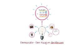 Democratie - Den Haag en denklessen