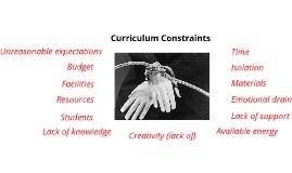 Curriculum contraints